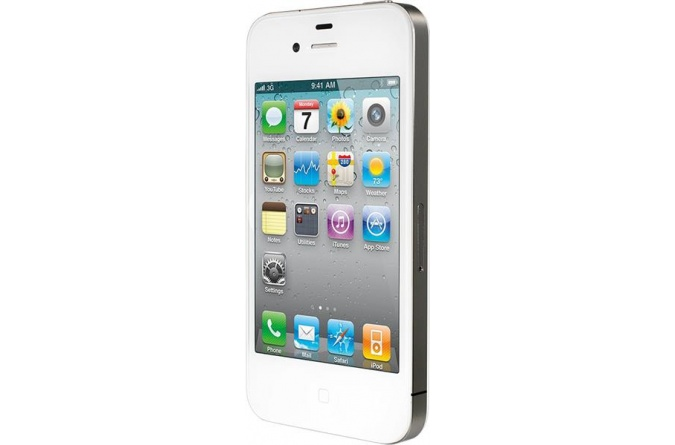 Apple iPhone 4 32Gb White фото 2