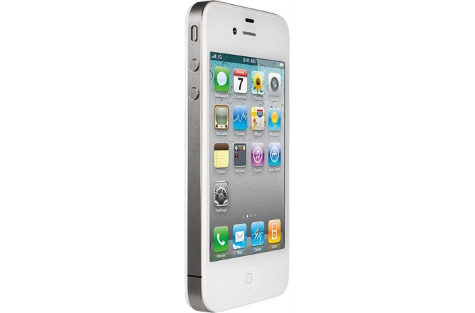 Apple iPhone 4 32Gb White фото 3